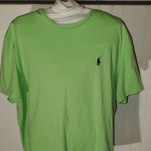 new without tags Lime green Ralph Lauren Polo t